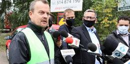 Prezydent Sosnowca ostro po pożarze: bandyci, złodzieje podrzucają śmieci