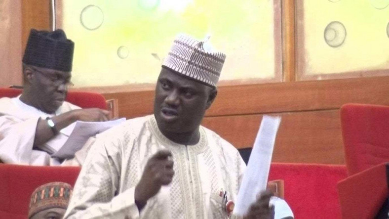 Senator Aliyu-Sabi Abdullahi sponsors the hate speech bill [vanguardngr]