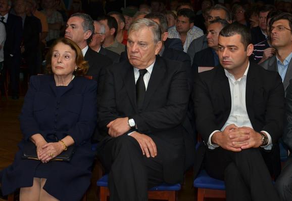 Komemoraciji su prisustvovali i predsednik FSS Tomislav Karadžić, kao i generalni sekretar ZoranLaković