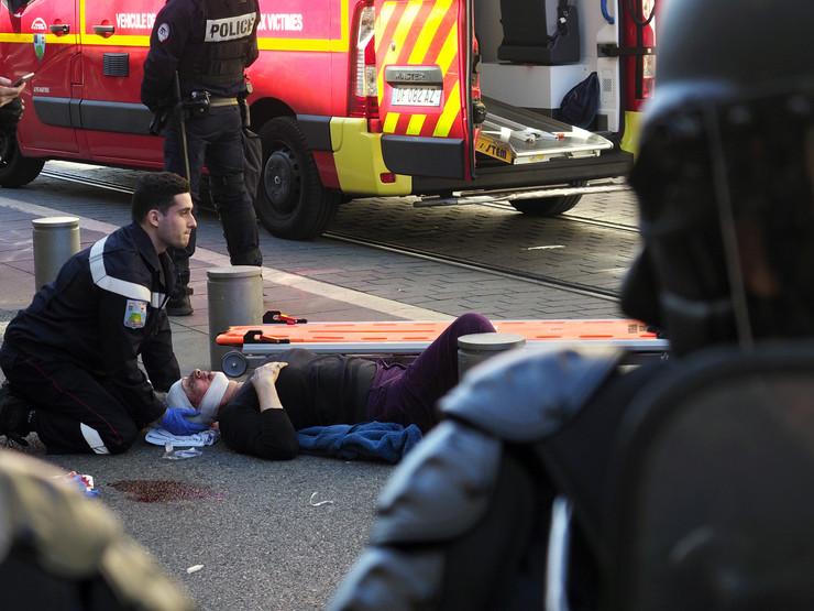 Žuti prsluci protest žena 73 povrede policija EPA ARNOLD JEROCKI