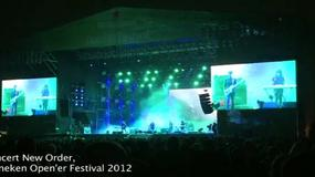 Heineken Open'er Festival 2012: koncert New Order