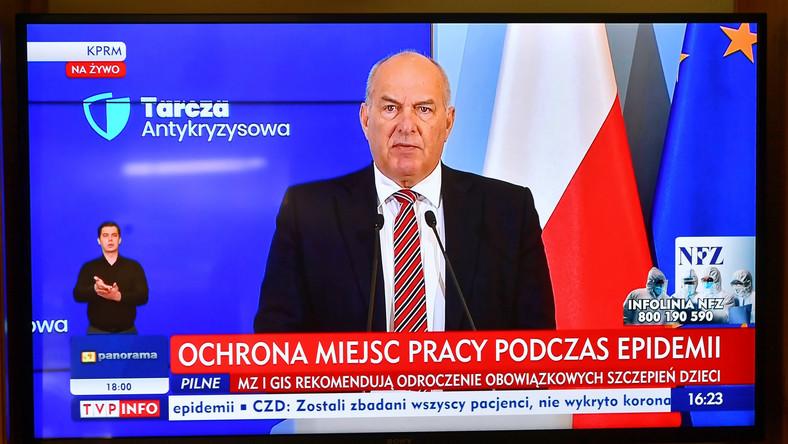 minister Tadeusz Kościński