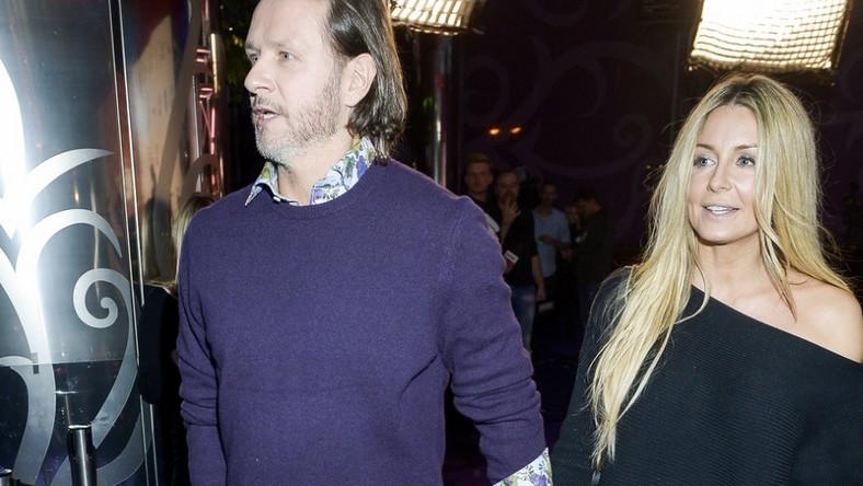 """Para wzięła wczoraj udział w premierze filmu """"Podatek od miłości"""" w jednym z warszawskich kin..."""
