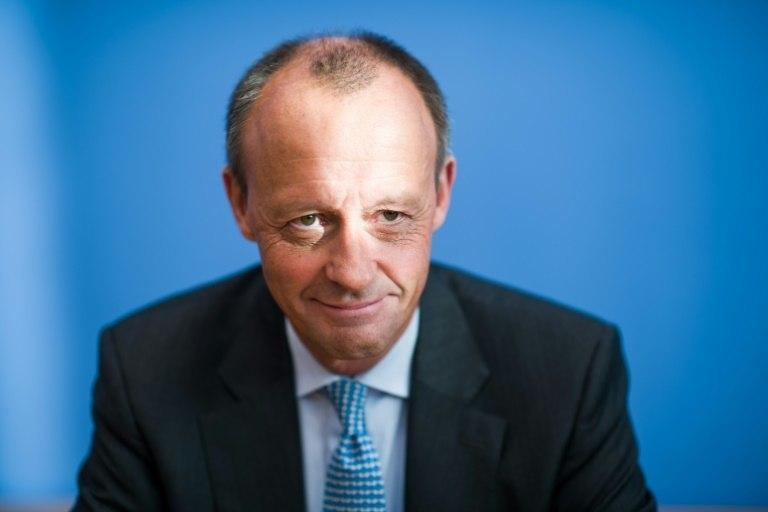 Some party members hope that lawyer and former parliamentary group leader Friedrich Merz (pictured December 5, 2018), who has long nursed a grudge against Merkel and who many consider her nemesis, will bring the party back to its conservative roots