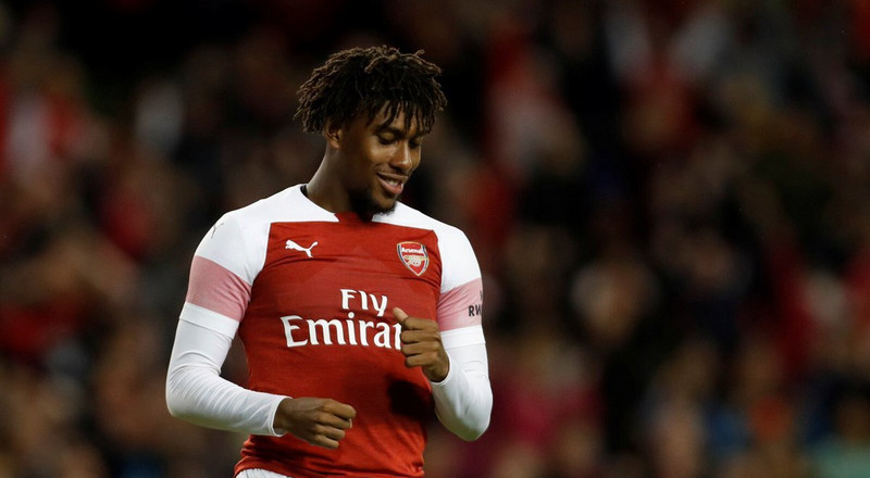 Everton agree £40m deal with Arsenal to sign Super Eagles Alex Iwobi