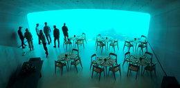 Tak wygląda podwodna restauracja. Widok robi wrażenie