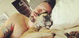 Prokop uwielbia swojego psa. Ale go rozpieszcza!