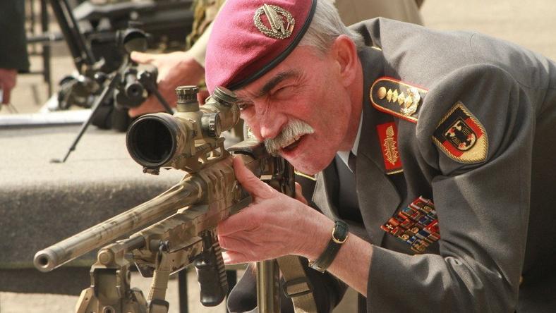 Gen. Hans-Lothar Domröse głównodowodzący NATO w Europie Środkowej i Północnej, fot. 12sdz.wp.mil.pl