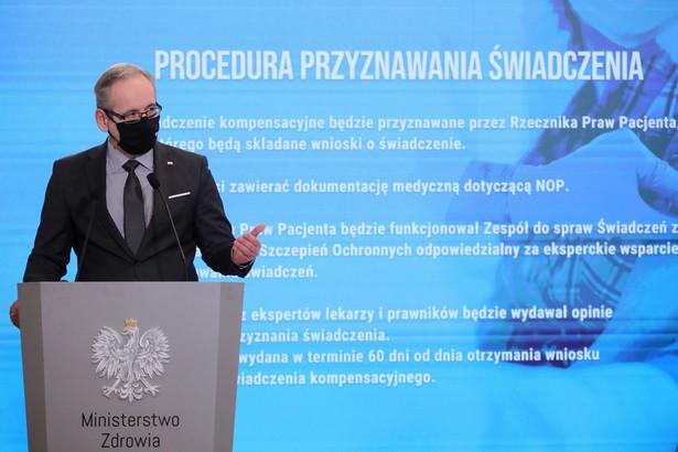 """Adam Niedzielski zaznaczył, że minister zdrowia """"ma instrumenty, żeby w rozmowie i dialogu zastanowić się nad innymi optymalnymi rozwiązaniami"""""""