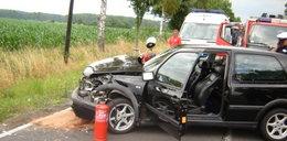 5 osób rannych w wypadku, w tym dzieci!