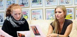 Joanna Krupa w redakcji Faktu! FOTO