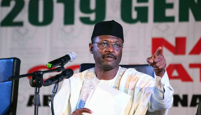 INEC chairman, Prof. Mahmood Yakubu [Guardian]