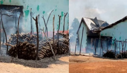 65-year-old woman's house & 10,000 tubers of yam set ablaze by youth over witchcraft