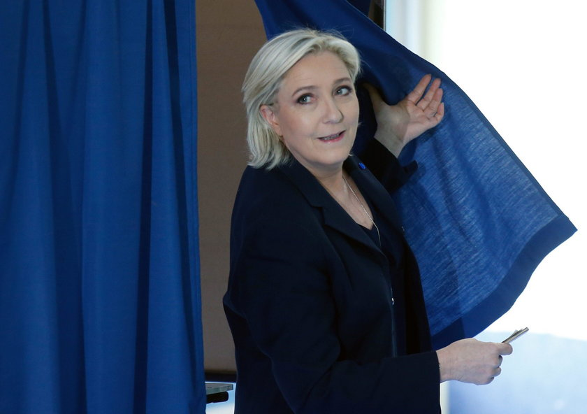 Brigitte Trogneux, wife of Emmanuel Macron, head of the political movement En Marche !, or Onwards !