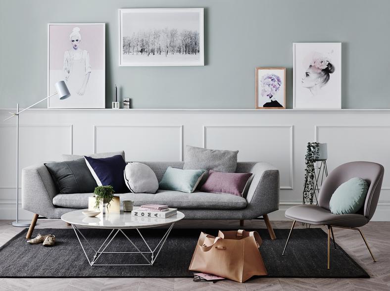 Nowość Meble w stylu skandynawskim do salonu - Dom LU88