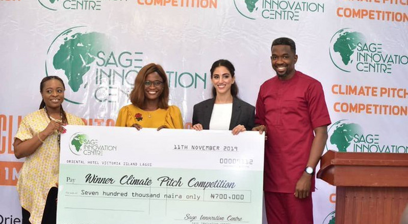 Youth-led Climate Change group, ICCDI, wins N700,000 in SAGE pitch competition