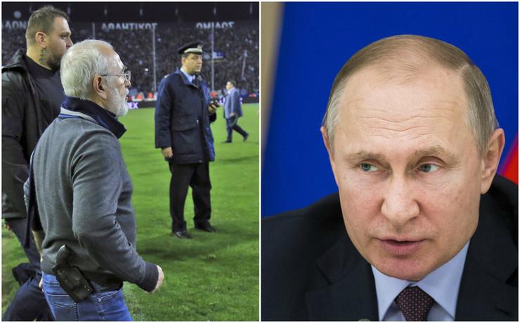 Ivan Savidis, Vladimir Putin