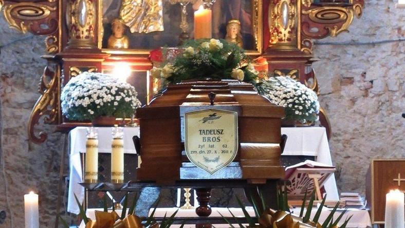Pogrzeb Tadeusza Brosia