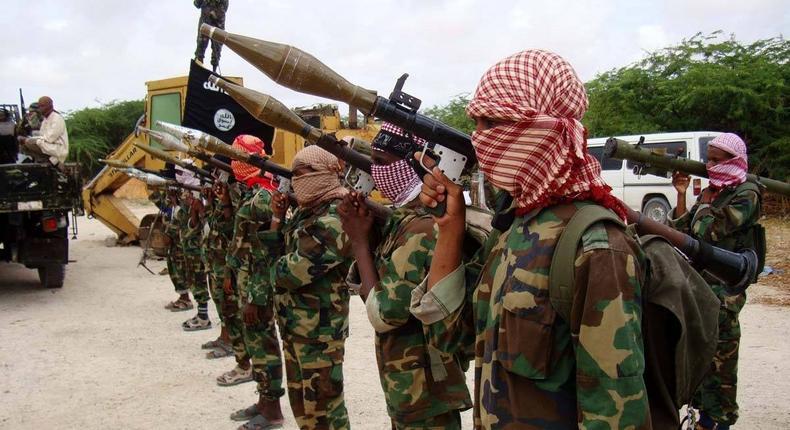 Al-Shabaab fighters. (middleeastmonitor)