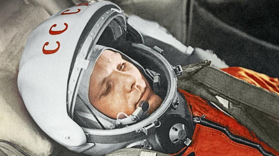 Jurij Gagarin przed lotem w kosmos