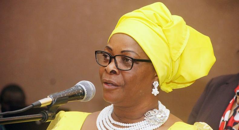 Zambian first lady, Esther Lungu.
