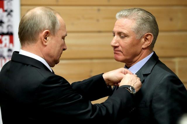 Vladimir Putin i Boris Rotenberg