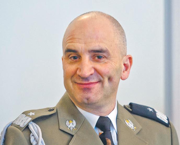 Gen. Adam Duda, były szef IU MON