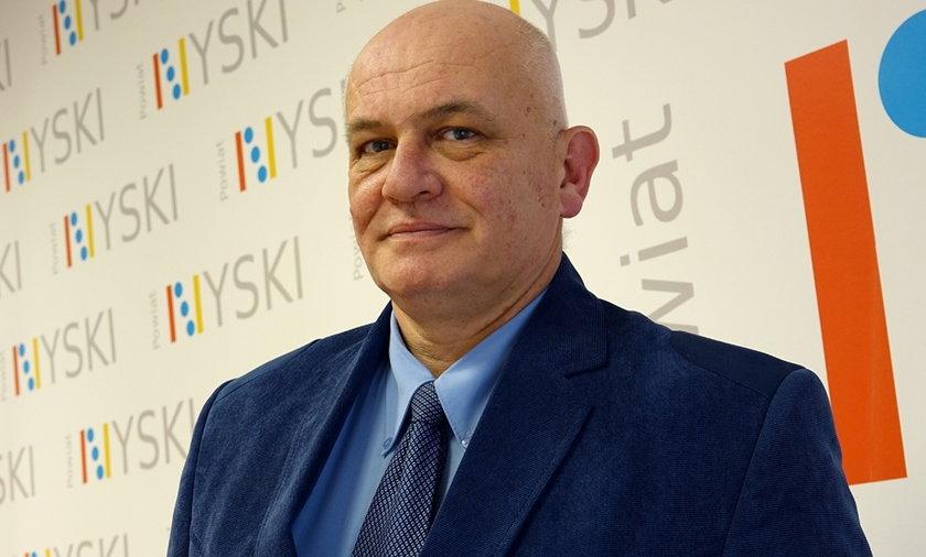 Starosta nyski Andrzej Kruczkiewicz zaszczepiony na Covid i zawieszony
