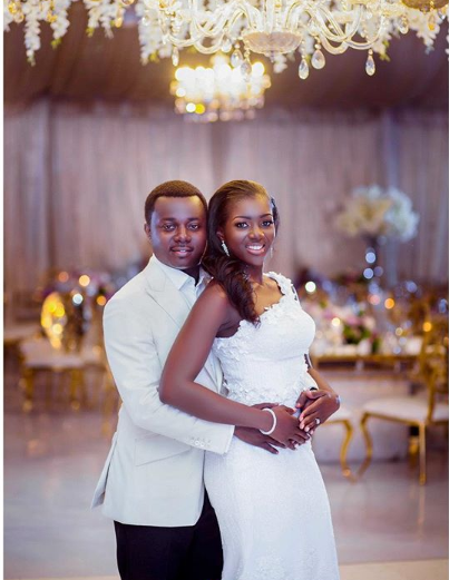 Photos: MP for Assin South Ntim Fordjour grabs wife