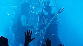 Nergal na gdańskim koncercie Machine Head