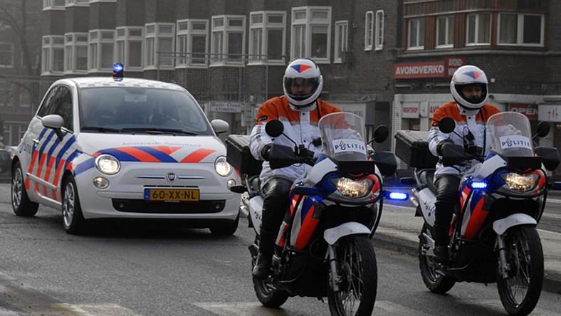 Policyjny fiat 500 z Holandii