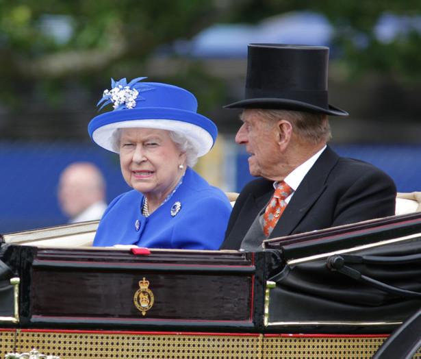 Książę Filip i królowa Elżbieta