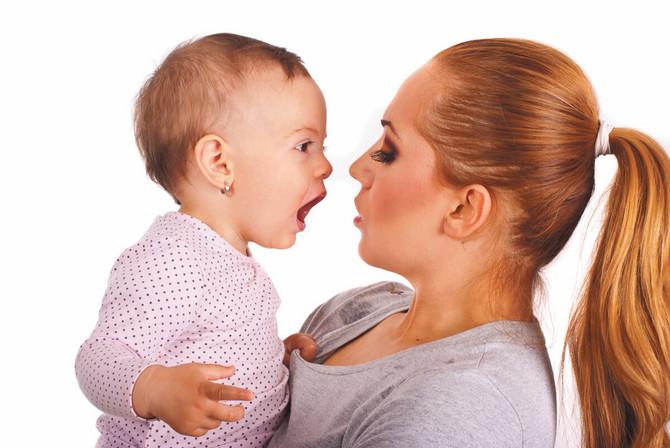 Bebe osećaju vaše telo i duh