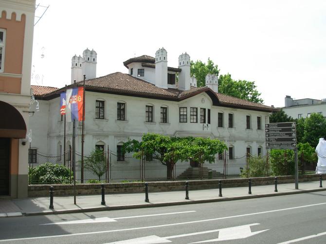 Konak kneginje Ljubice knez je prvobitno napravio kao svoju rezidenciju, ali se preselio na Topčider