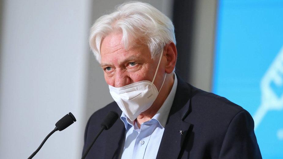 Główny doradca premiera do spraw COVID-19 prof. Andrzej Horban