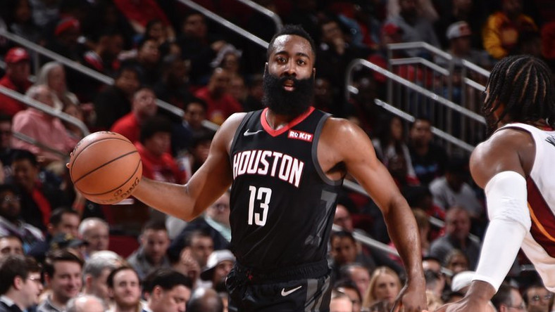 ac90d0594f8 James Harden scores 58 points as Houston Rockets beat Miami Heat ...