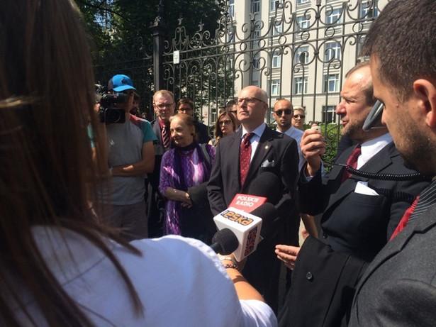 Protest adwokatów/ fot. Prawnik.pl