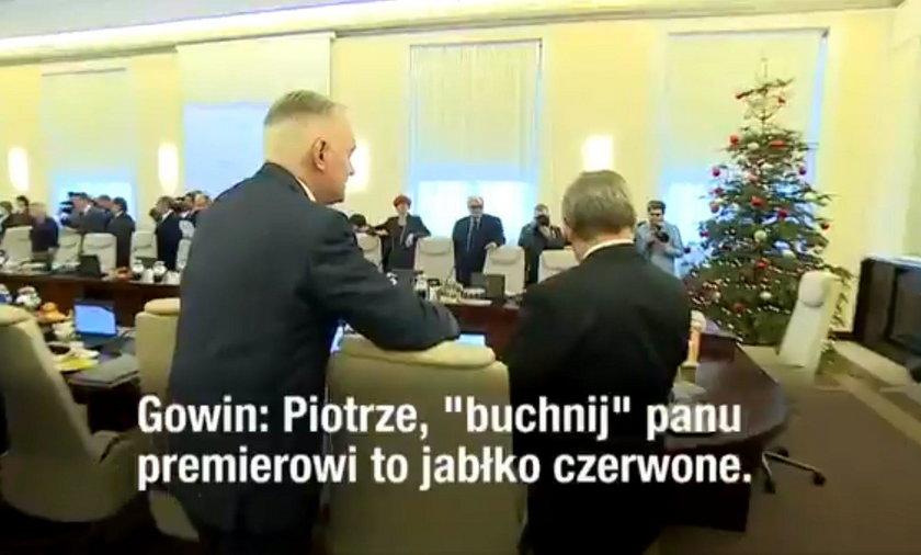 Jarosław Gowin i Piotr Gliński