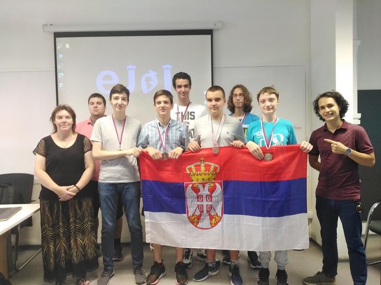 Informatička reprezentacija Srbije medalje Gruzija onlajn takmičenje
