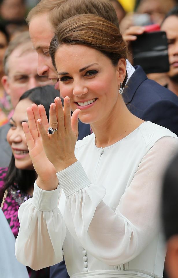 Pierścionek zaręczynowy księżnej Catherine