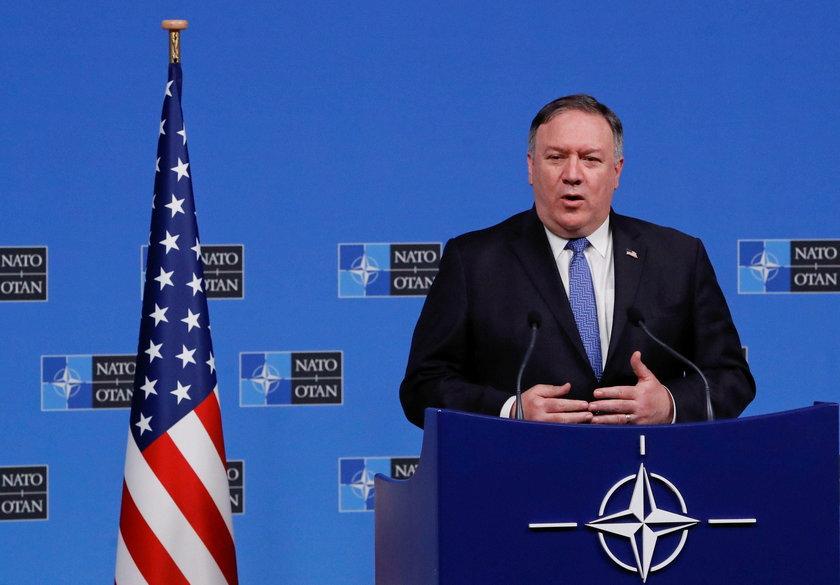 U.S. Secretary of State Mike Pompeo visits Slovakia