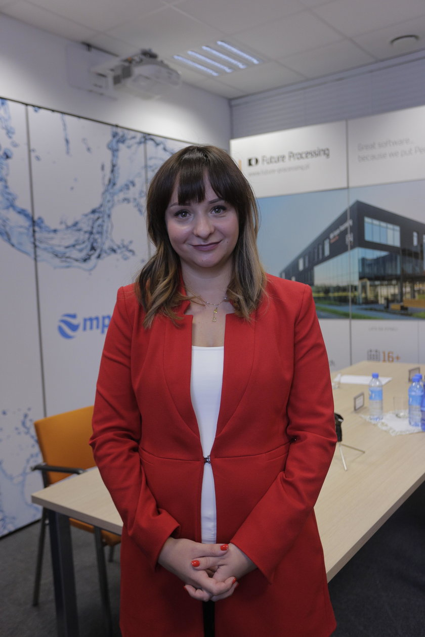 Monika Brachmańska (29 l.), Future Processing