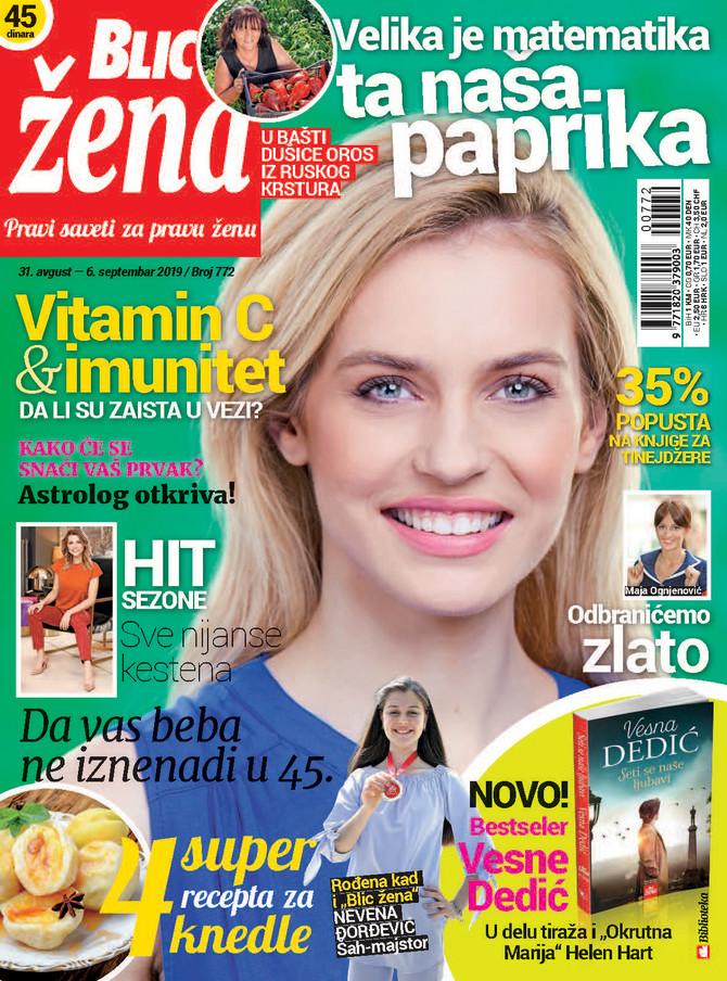 "Nova ""Blic žena"" na kioske stiže u subotu 31. avgusta"