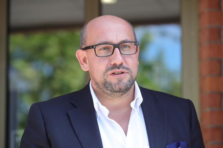 Dr. Fröhlich Krisztián szerint Lajcsi legkevesebb 9 hónapot tölthet börtönben /Fotó: Varga Imre