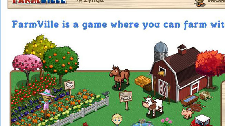 Tak posłowie doją krowy w grze FarmVille