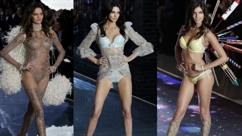 Modelki na pokazie w Nowym Jorku