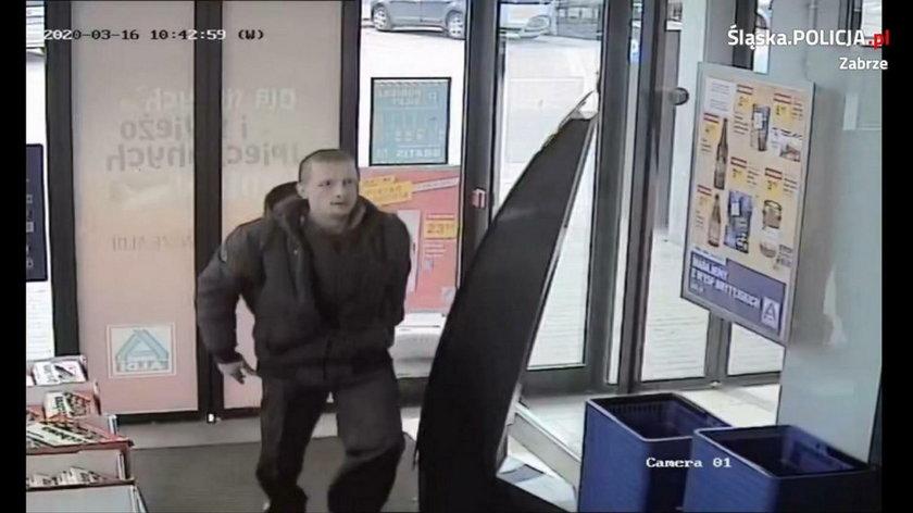 Szukają furiata, który kradł i groził użyciem noża