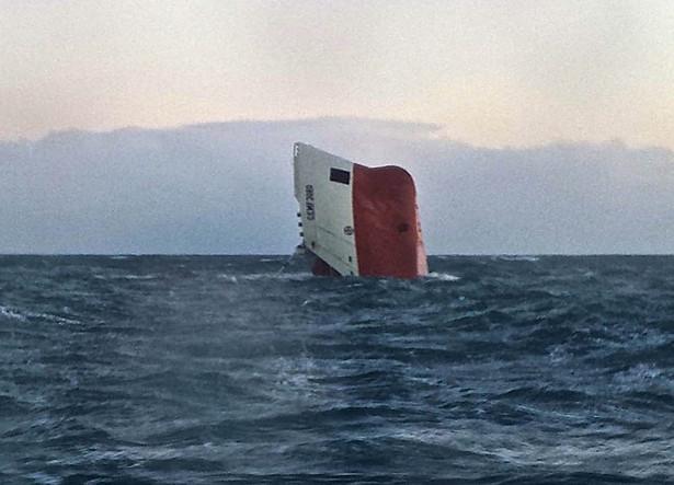 Cementowiec, który zatonął u wybrzeży Szkocji, przeszedł badania techniczne w zeszłym miesiącu.
