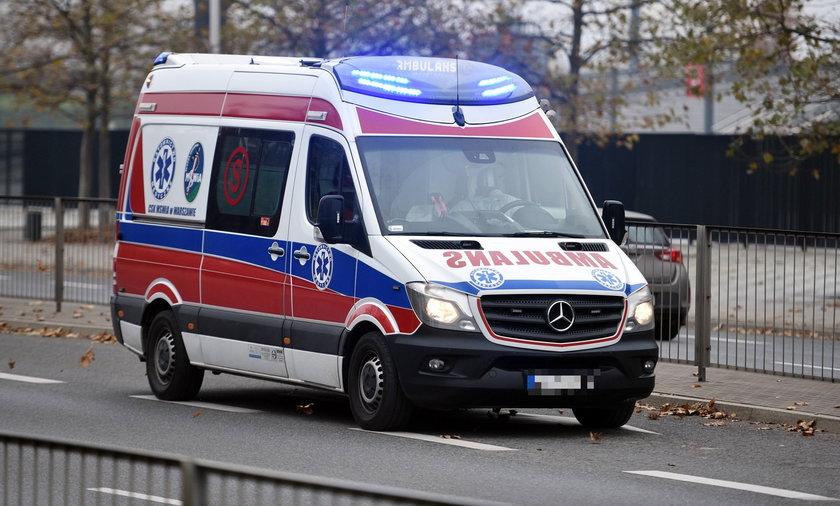 Policja zatrzymała pijanego kierowcę ambulansu. ZDJĘCIE ILUSTRACYJNE