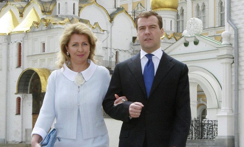 Tajemnicze zniknięcie żony premiera Rosji Miedwiediewa, ?